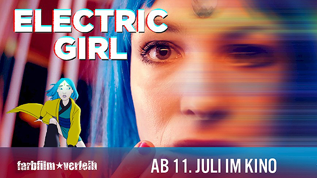 "Kinostart für ""Electric Girl"" am 11. Juli 2019!"