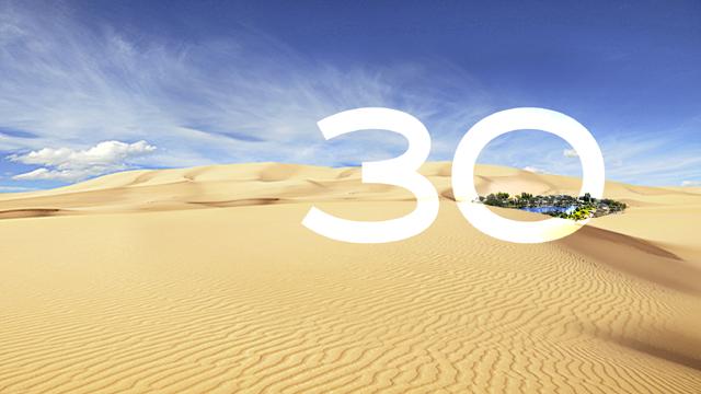 30 years anniversary! Wüste went crazy!